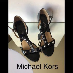 Used Michael Kors  high heels sandals size 8M